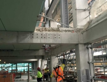 Steel Beam Fabrication and Installation