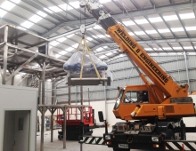 Interior Crane Operation by Welding & Engineering